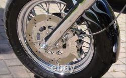 Harley Davidson Harrison Billet Brake Caliper 4-pot Twincam & V-rod Bc39282t