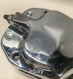 Harley Springer Gma Front Brake Caliper 2 Piston Billet Chopper Bobber Custom