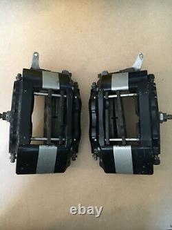 Hi-Spec Billet 4 SVA rear 4 pot vented handbrake calipers rally grp4 kit car