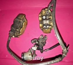 Honda CBR929 cbr 929 RR 929RR Front Brake Caliper hose line 00 01 2000 2001