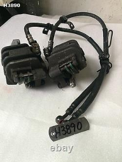 Honda Cbr 250 Rr Mc22 All Year Front Brake Calipers & Line Genuine Oem H3890