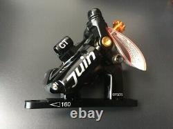 Juin Tech GT-F Line Pull Hydraulic Disc Brake caliper Road CX Flat Mount 160mm