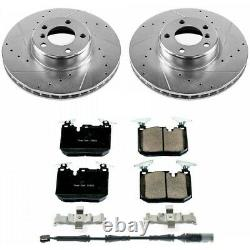 K6653 Powerstop 2-Wheel Set Brake Disc and Pad Kits Front New for 320 328 330