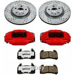 KC1433-26 Powerstop Brake Disc and Caliper Kits 2-Wheel Set Front for Solstice