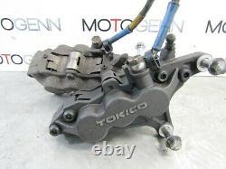 Kawasaki ZX9 R Ninja 900 98 front brake calipers master cylinder pump line