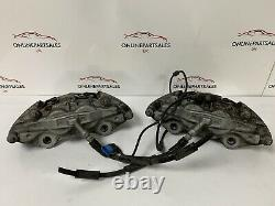 Mercedes C Class W205 C220 Amg Line Front Calipers Set Of Two Genuine