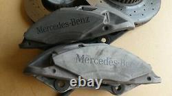 Mercedes C Class W205 Front Amg Line Brake Caliper Discs Set