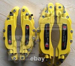 Metal Yellow S line Brake Caliper Cover For Audi A1 A2 A3 A4 Q2 2019 Q3 F11R9