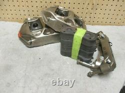 PFC ZR22 Nickle Plated Monoblock Billet Aluminum Nascar Brake Calipers AP Alcon