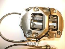 Performance Friction rear brake calipers 4 pistons billet monoblock NASCAR