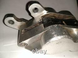 Performance Machine Billet 4 piston differential brake caliper Harley Chopper