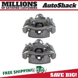 Rear Disc Brake Caliper with Bracket Pair 2 for Chevy Malibu Pontiac G6 G5 3.9L V6