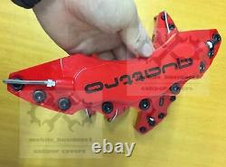 Red S line Brake Caliper Cover Engineering Plastic For Audi A1 A2 A3 Q3 F11R9