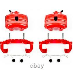 S2974A Powerstop Brake Calipers 2-Wheel Set Front Driver & Passenger Side for VW