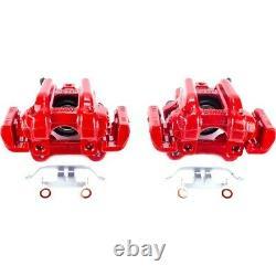 S7110 Powerstop 2-Wheel Set Brake Calipers Rear Driver & Passenger Side for 320