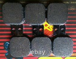 SBS Ceramic Disc Brake Pad Set Fits Harrison Billet 6 Mini Calipers BC15928 T