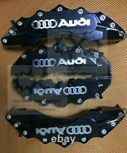 S line Black Brake Caliper Cover Engineering Plastic For Audi A4A3Q3Q2 F11R9