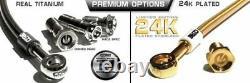 Single rear caliper brake ABS line kit for 2013 2018 Suzuki GSXR1300 HAYABUSA