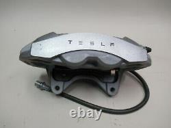 Tesla Model 3 Front Right Passenger Brake Caliper Base Gray NO LINE 1044622-00-D