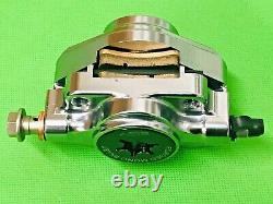Vespa Disc Model Pm Tuning Silver Forged Mono Billet Brake Caliper