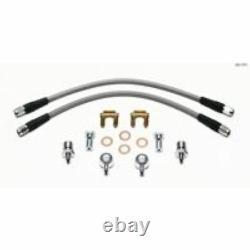 Wilwood 220-11371 Flexline Brake Line Kit D52 Caliper 14 Long 7/16-20 Banjo