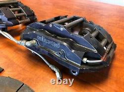 Wilwood 4 Piston Billet Aluminum Gt-6000 Brake Calipers NASCAR Pair