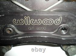 Wilwood Billet Aluminum Brake Calipers withpads GT6000 (1 complete front set)