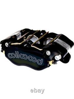 Wilwood Brake Caliper Billet Dynapro Aluminum Gray Anodized 4-Piston (120-9691)