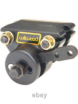 Wilwood Brake Caliper Billet Spot Series Aluminum Black Anodized 1-P (120-1360)