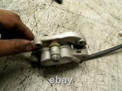 Yamaha Yz450f Yz 450f 2009 09 Front Brake Caliper Master Cylinder Line
